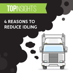4 reasons to reduce idling