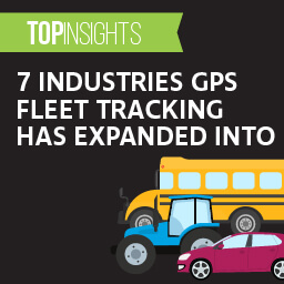 7 industries GPS fleet tracking has expanded into
