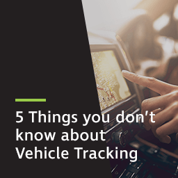Five things you don't know about vehicle tracking