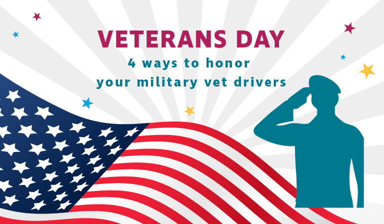 Military veterans can make the best truck drivers based on their prior experience