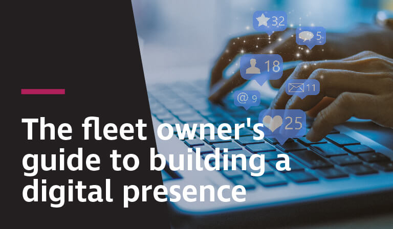 Building a digital presence should be one of the top resolutions for transportation businesses in 2019.