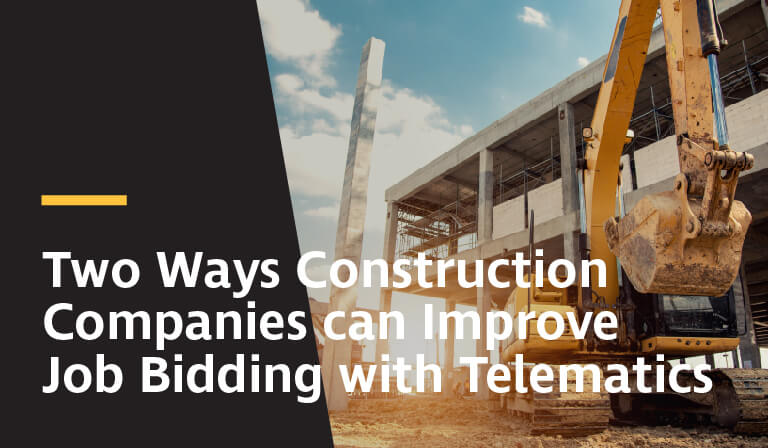 two ways construction companies can improve job bidding with