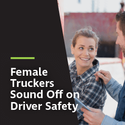 Female truckers sound off on driver safety