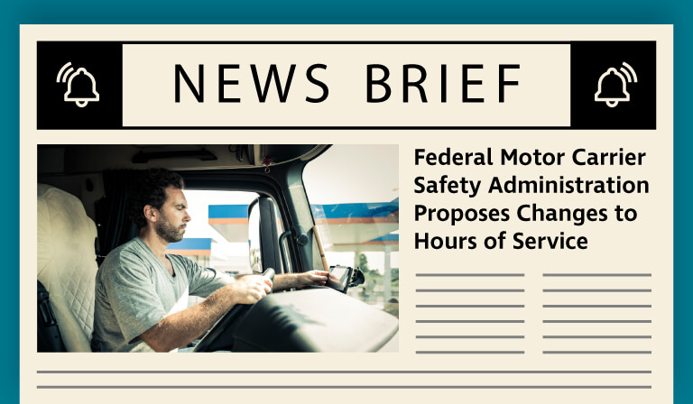 Proposed HOS regulation amendments offer drivers greater flexibility on the road and during break periods.
