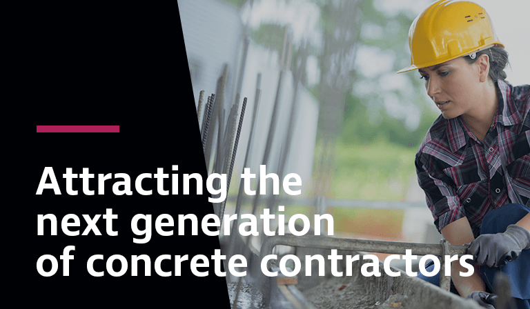 Leveraging technology will be key in recruiting younger concrete contractors.