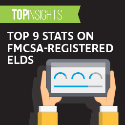 Top 9 stats on FMCSA-registered ELDs