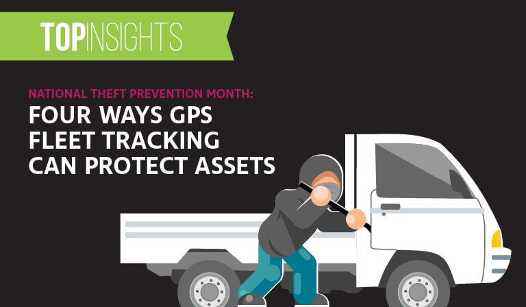 National Theft Prevention Month: Four ways GPS fleet