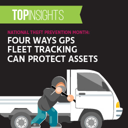 National Theft Prevention Month: Four ways GPS fleet tracking can protect assets