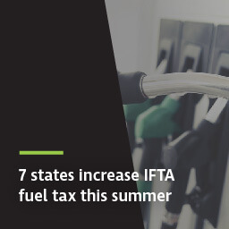 7 states increase IFTA fuel tax this summer | Teletrac Navman