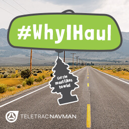 National Truck Driver Appreciation Week #WhyIHaul contest: calling all truck drivers