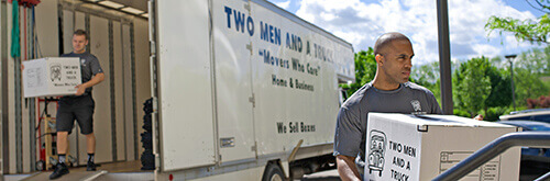 Two Men And A Truck Customer Case Study Hero