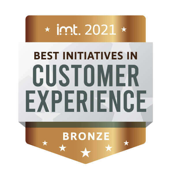 2020 Bronze IMT Award | Best Initiatives in Customer Experience