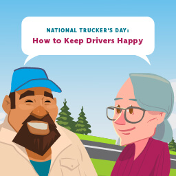 It's National Trucker's Day! How are you keeping drivers happy?